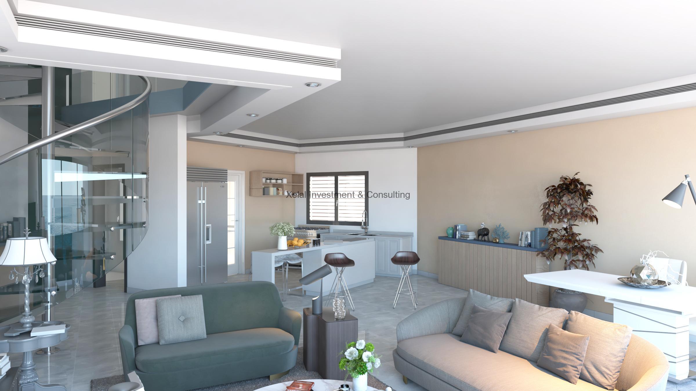 Appartement F5 – Vue sur mer