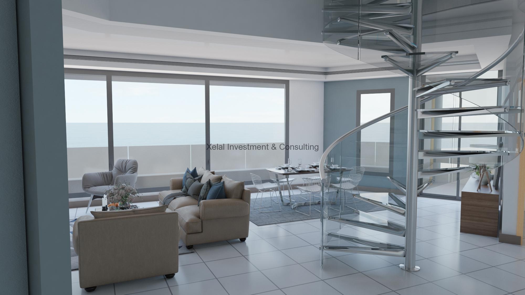 Duplex A – F4 – Vue sur mer