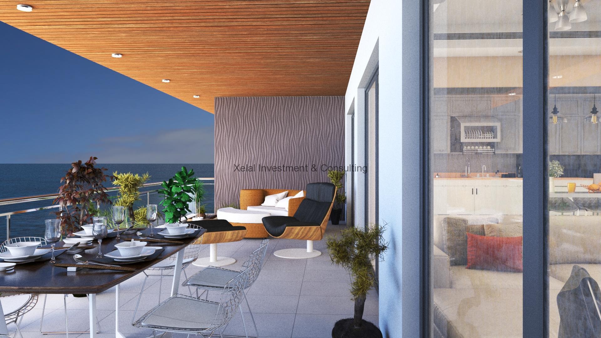 Appartements F5 – Vue sur mer